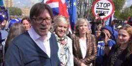Guy Verhofstadt wint zieltjes op campagne in Londen