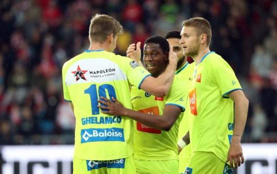 AA Gent pakt in extremis eerste zege van Play-off 1