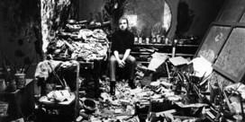'Francis Bacon in zijn atelier, Londen'(1977)