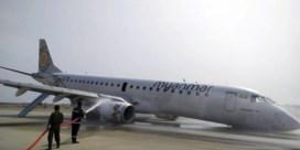 Passagiersvliegtuig moet noodlanding maken zonder voorwielen