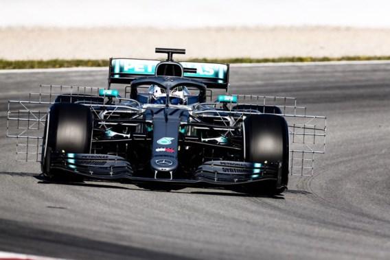 Valtteri Bottas (Mercedes) snelste tijdens eerste dag F1-test Barcelona