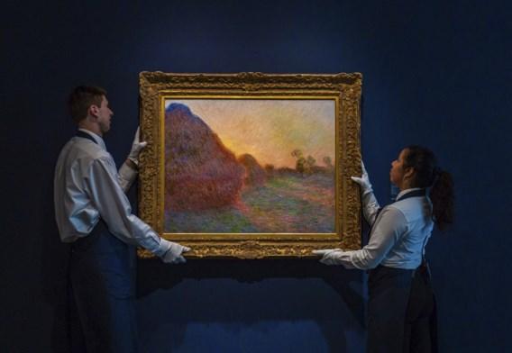 Schilderij van Monet verkocht voor recordbedrag van 110,7 miljoen dollar