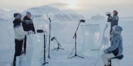 Dit is het meest noordelijke ijsconcert ooit bij -12 °C