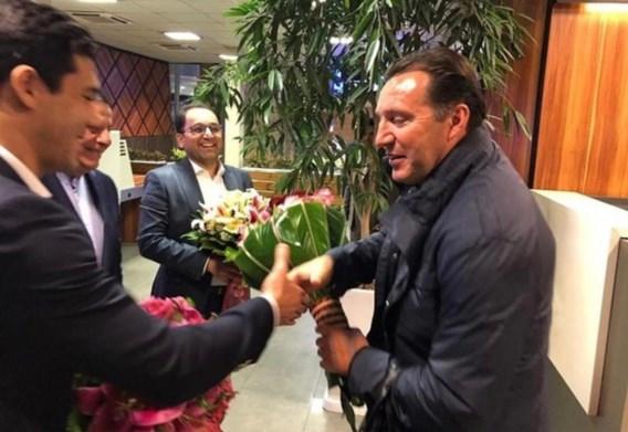 Marc Wilmots wordt de nieuwe bondscoach van Iran