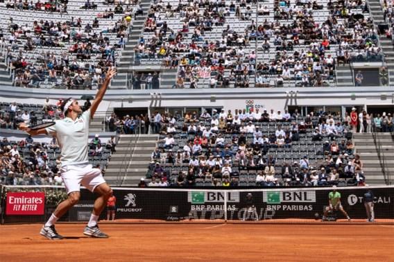 Roger Federer en Rafael Nadal nemen probleemloze start in Rome