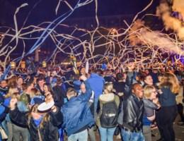 Genkse Stadsplein ontploft na laatste fluitsignaal