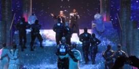 Madonna veroorzaakt ophef met Palestijnse vlag tijdens Eurosong-optreden