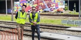 'Graffiti om graffiti tegen te gaan'