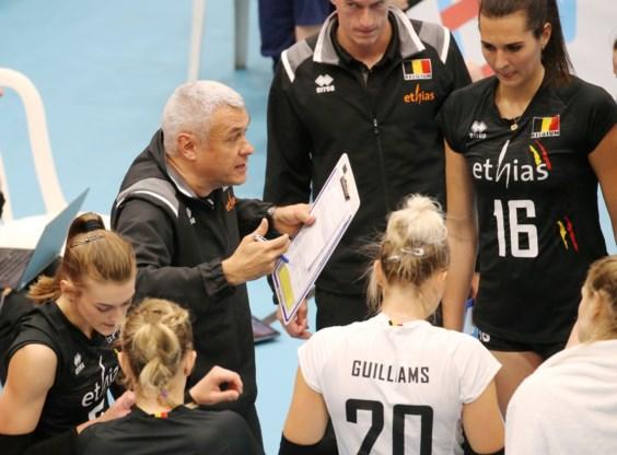 Yellow Tigers niet opgewassen tegen Verenigde Staten in Women's Nations League Volleybal