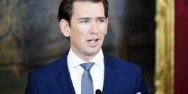 Oostenrijks parlement stemt maandag over motie van wantrouwen tegen bondskanselier Kurz