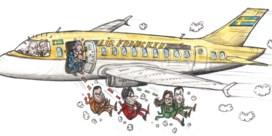 Zweedse vlieger gaat niet meer op