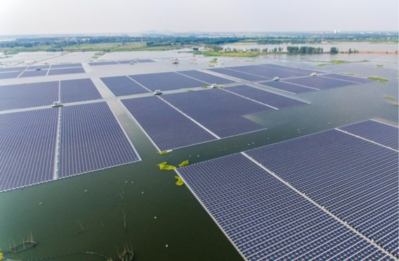 Nederlands plan voor 4.000 hectare zonnepanelen op het IJsselmeer