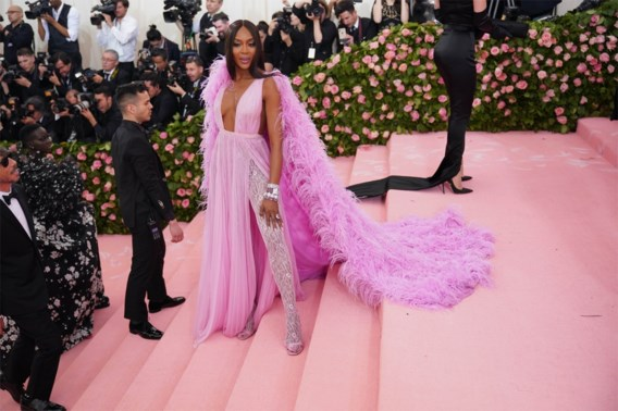 Nieuwe wending in modellencarrière Naomi Campbell
