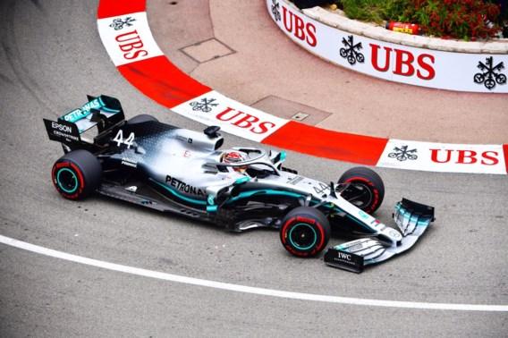 Hamilton net iets sneller dan Verstappen tijdens eerste oefensessie in Monaco
