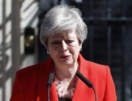 Brits premier Theresa May neemt ontslag op 7 juni