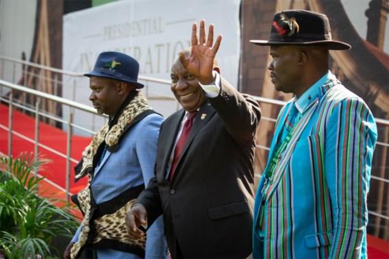 Zuid-Afrikaanse president Ramaphosa ingezworen
