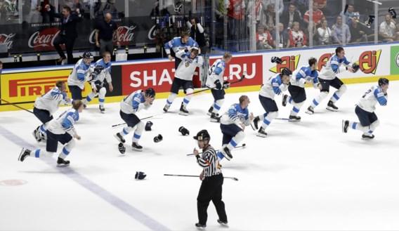 Finland wint voor de derde keer het WK ijshockey na zege in finale tegen Canada