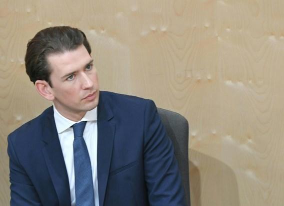 Oostenrijkse kanselier Kurz opzijgeschoven