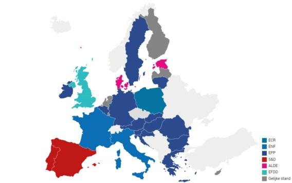 Hoe stemde Europa? De uitslagen van de Europese verkiezingen per land