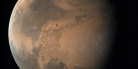 Onder de ijskap van Mars zit nog een ijskap, en nog een