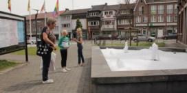 Grapjassen gooien zeep in fontein