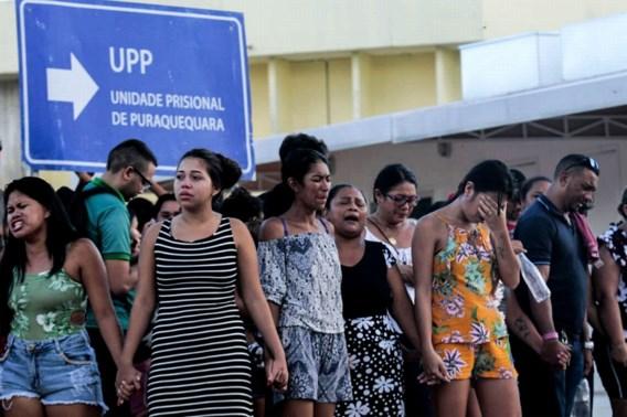In één dag 40 gedetineerden omgekomen bij geweld in Braziliaanse gevangenissen