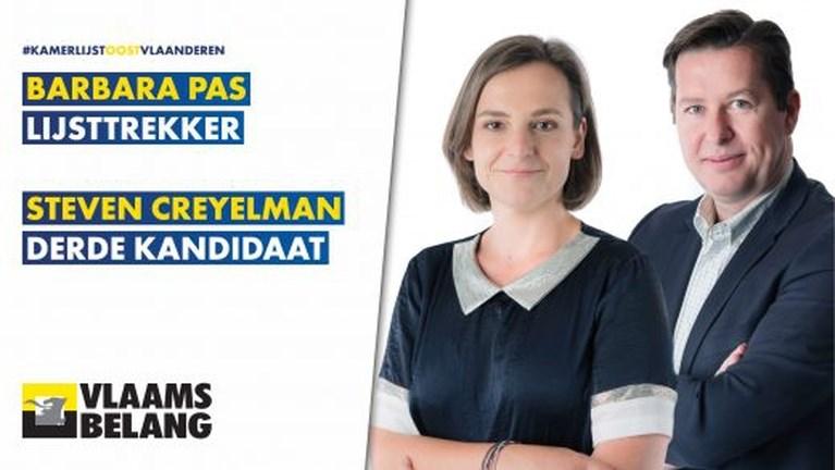 Terug van weggeweest of stomverbaasd: dit zijn de 33 'nieuwe' Vlaams Belangers