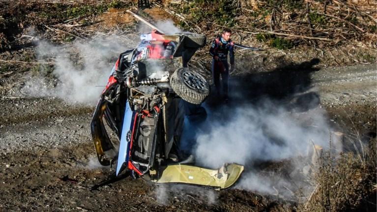 Neuville schudt crash van zich af met snelste chrono in rally van Portugal