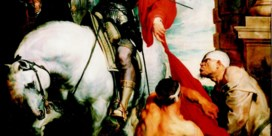Vocht bedreigt topwerk Antoon van Dyck