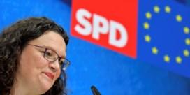 Leider Duitse sociaaldemocraten neemt ontslag na nederlaag bij Europese verkiezingen