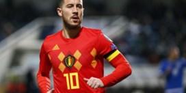"""Voetbalbond viert honderdste cap Hazard voor Rode Duivels met """"verrassing"""" tegen Kazachstan"""
