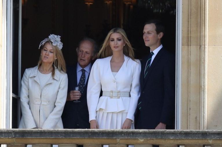 Queen verwelkomt Trump in Buckingham Palace