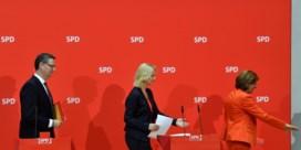 De Duitse regering strompelt verder