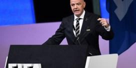 """FIFA-voorzitter Gianni Infantino voor herverkiezing: """"Niemand spreekt nog over crisissen"""""""