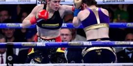 'Thuisnadeel' doet Delfine Persoon de das om in New York: Belgische bokster beter dan Taylor, maar wint niet