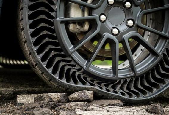 Michelin en GM willen tegen 2024 luchtloze banden op de markt