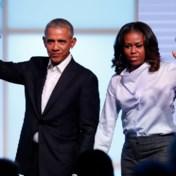 Obama's maken podcasts voor Spotify