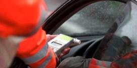Politie organiseert opnieuw 'weekend zonder alcohol achter het stuur'