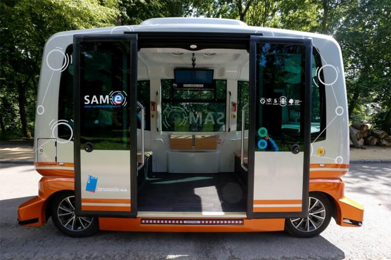 MIVB test elektrische zelfrijdende bussen