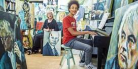 1,5 jaar schilderen voor piano voor kleinzoon