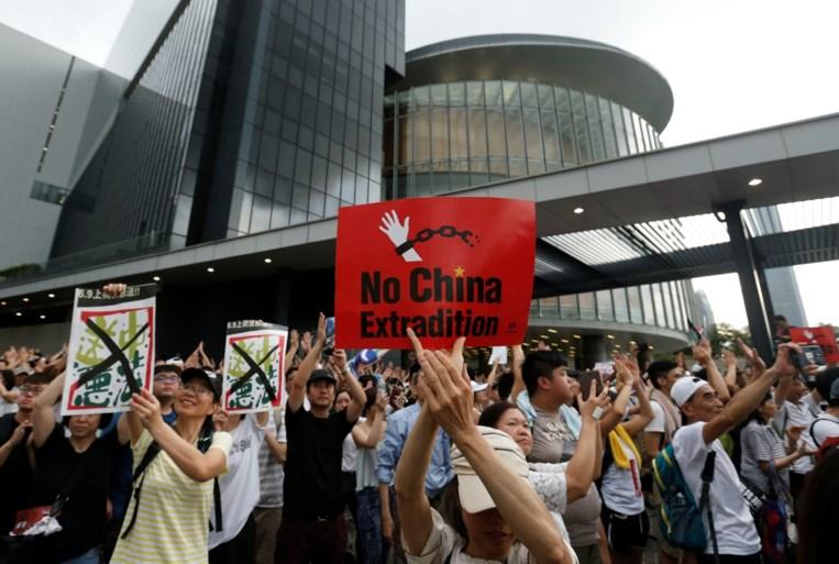 Honderdduizenden protesteren in Hongkong tegen wetsvoorstel over uitleveringen aan China