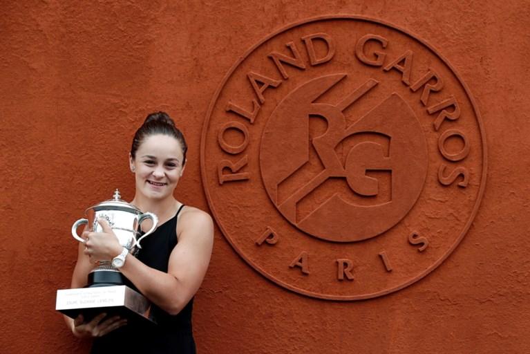 David Goffin zakt uit de top dertig op wereldranglijst, Barty klimt na triomf in Parijs naar tweede plaats op WTA-ranking