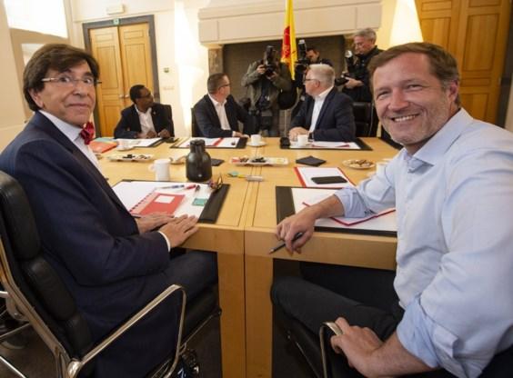 PS praat met PVDA over 'zo progressief mogelijke regering' in Wallonië, desnoods met gedoogsteun