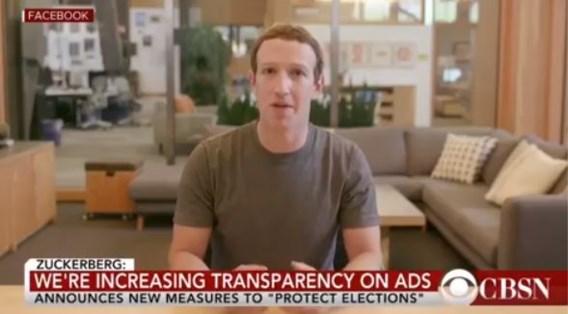 Fake video van griezelige Zuckerberg daagt Facebook uit