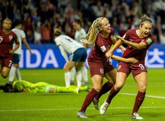 Engeland en Italië plaatsen zich voor achtste finales op WK vrouwenvoetbal