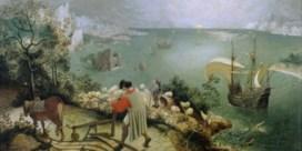 'De val van Icarus'(1565)