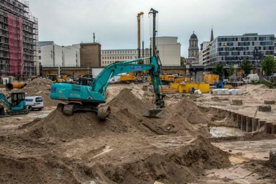 Bom uit WO II gevonden bij Alexanderplatz in Berlijn