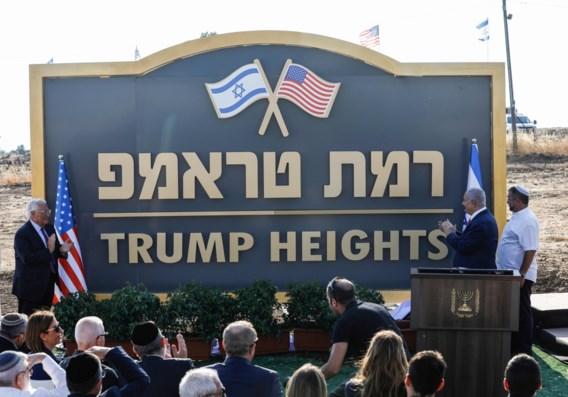 Nieuwe nederzetting op Golan wordt 'Trump Heights'