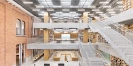 In Aalst staat een bibliotheek met de warmte van een woonkamer