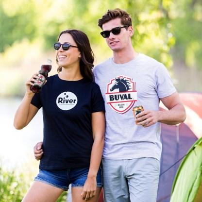 Naar de festivalweide in een T-shirt 'van den Aldi'